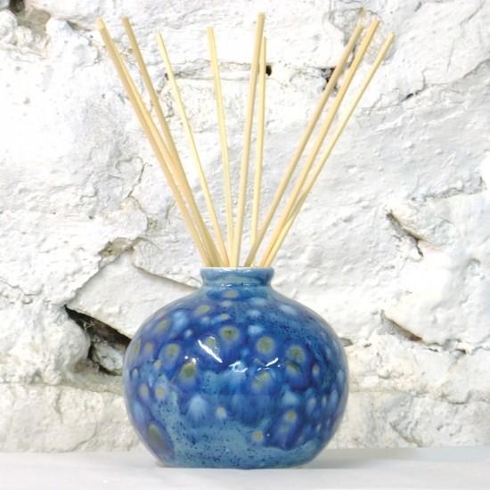 Reed Diffuser - Bud Vase in Mermaid Blue