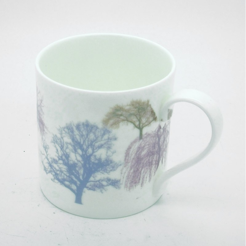Small Trees Bone China Mug