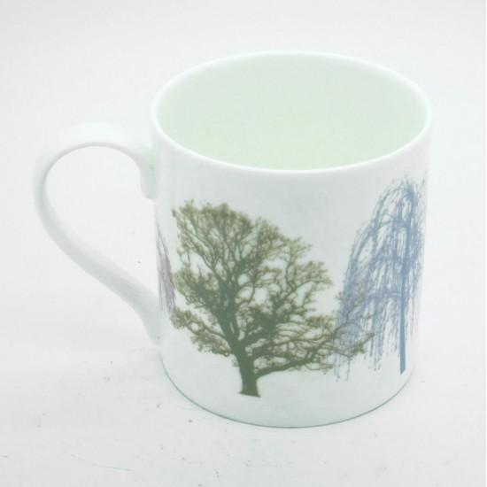 Small Trees Bone China Mug
