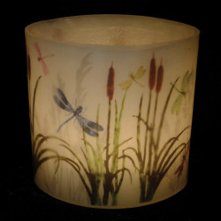Dragonfly Hurricane Candle