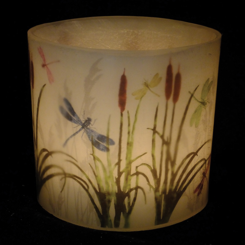 2017 Dragonfly Hurricane Candle