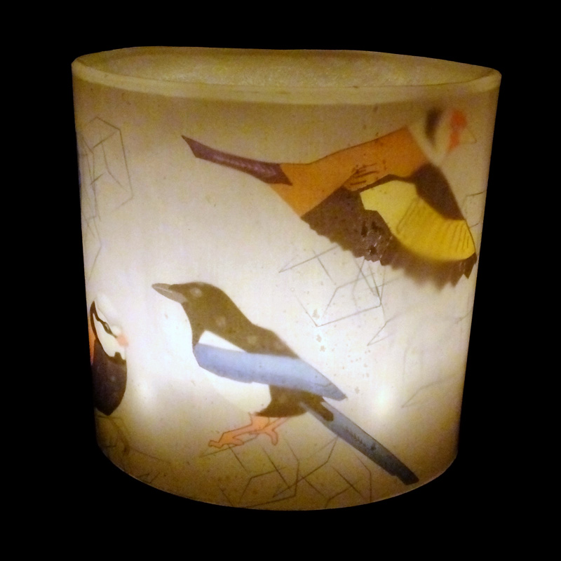 British Brids Hurricane Candle