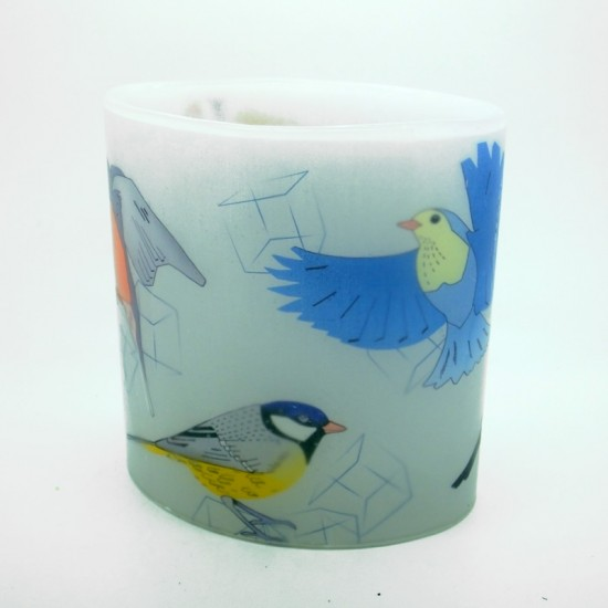 British Birds Hurricane Candle