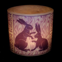 Purple De Morgan Hares Hurricane