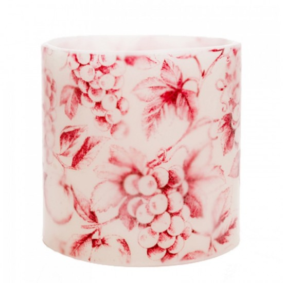 Red Grapes Hurricane Candle