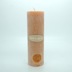 Neroli and Jasmine Round Pillar Candles