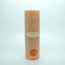 Neroli and Jasmine Round Pillar Candles