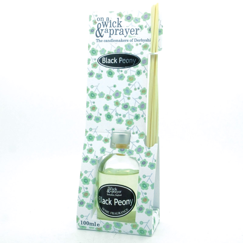 Black Peony Reed Diffuser