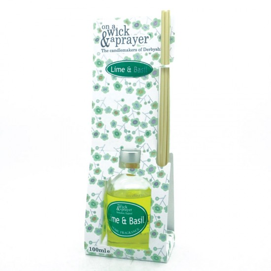 Lime and Basil Reed Diffuser