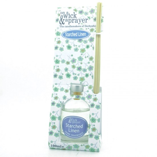 Starched Linen Reed Diffuser