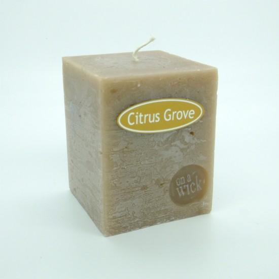 Citrus Grove Square Candles