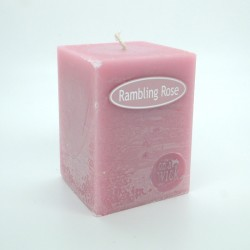 Rambling Rose Square Candles