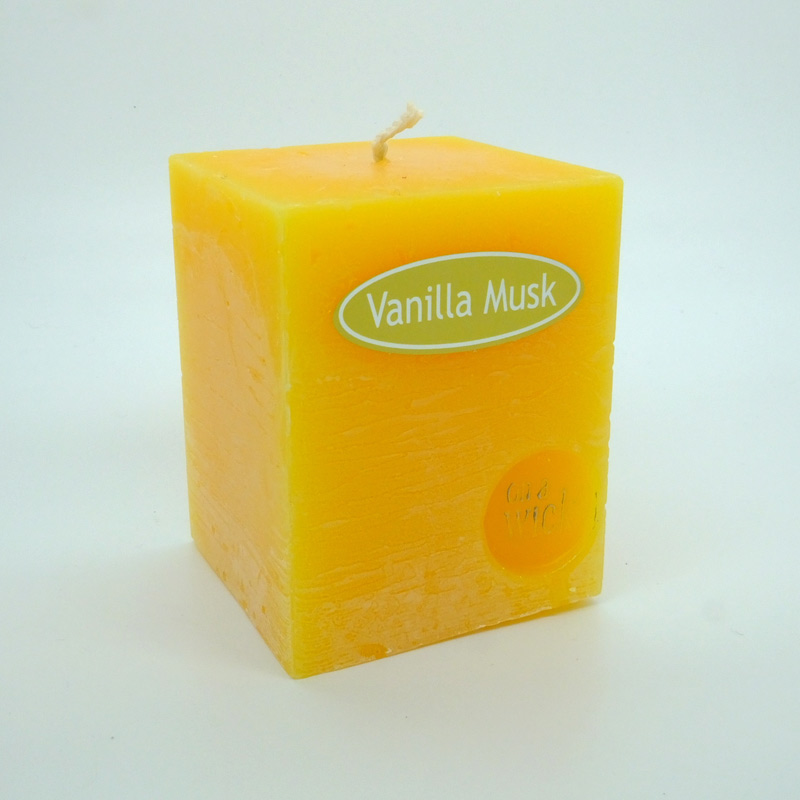 Vanilla Musk Square Candles
