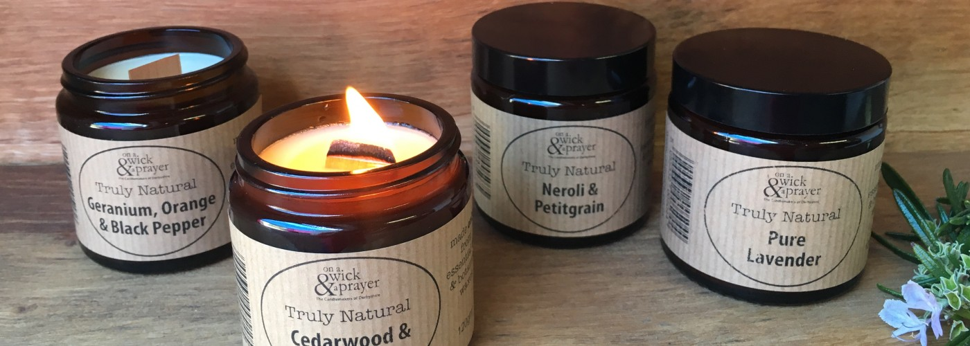 Scented candles | Bespoke candles | Reed diffusers by On a Wick and