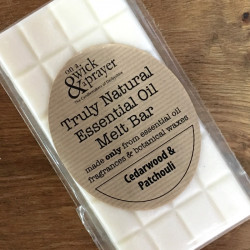 Truly Natural Melt Bar in Cedarwood & Patchouli