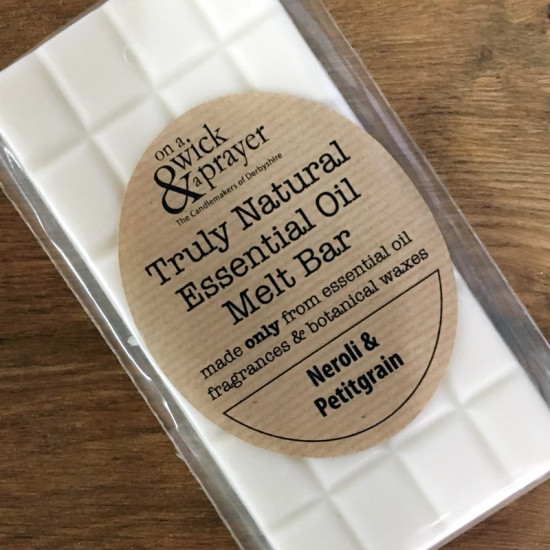 Truly Natural Melt Bar in Neroli & Petitgrain