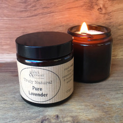 Truly Natural Candle in Pure Lavender