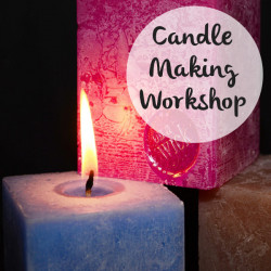 *SOLD OUT* Festive Candle Making Workshop - Sunday 29th September 2019