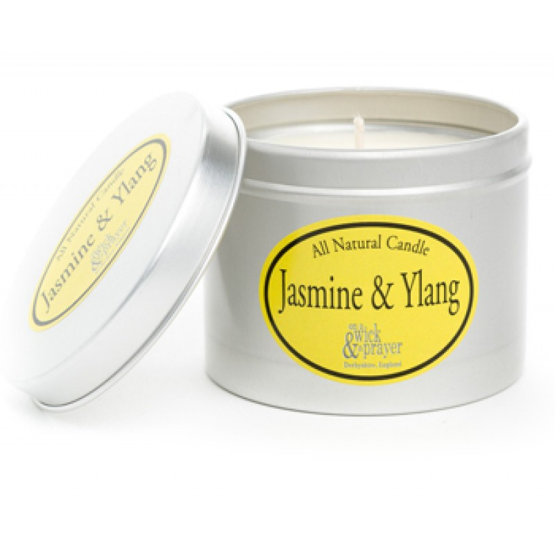 ALL NATURAL JASMINE AND YLANG CANDLE