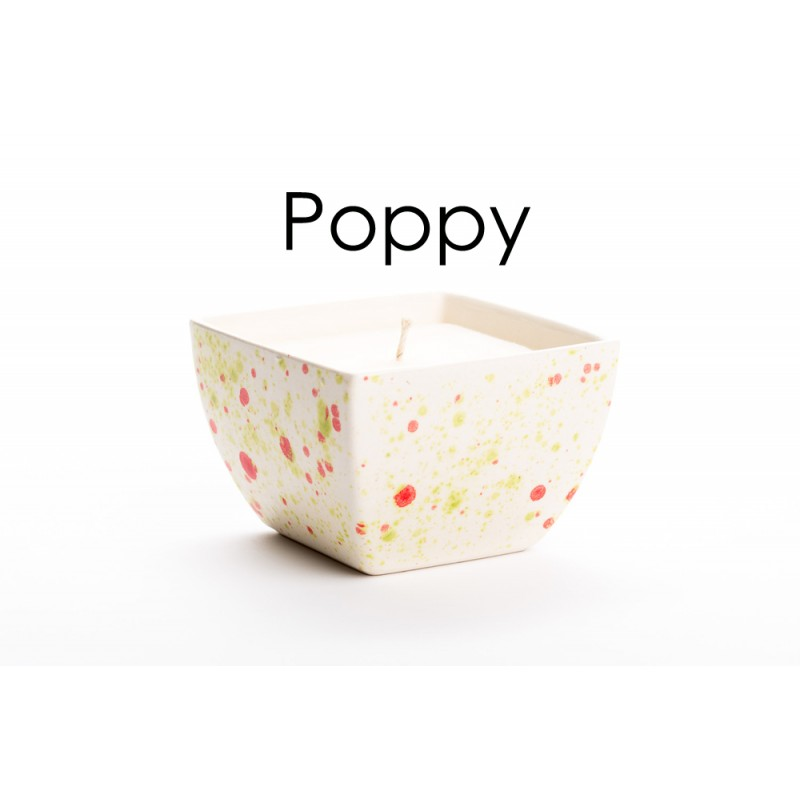 Beauty Spots Candles - Cottage Gardens-Poppy