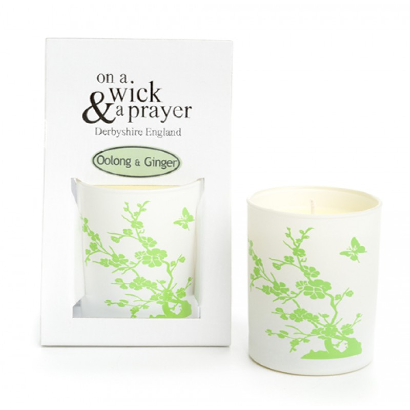 China Garden 2015 - Oolong & Ginger scented candle