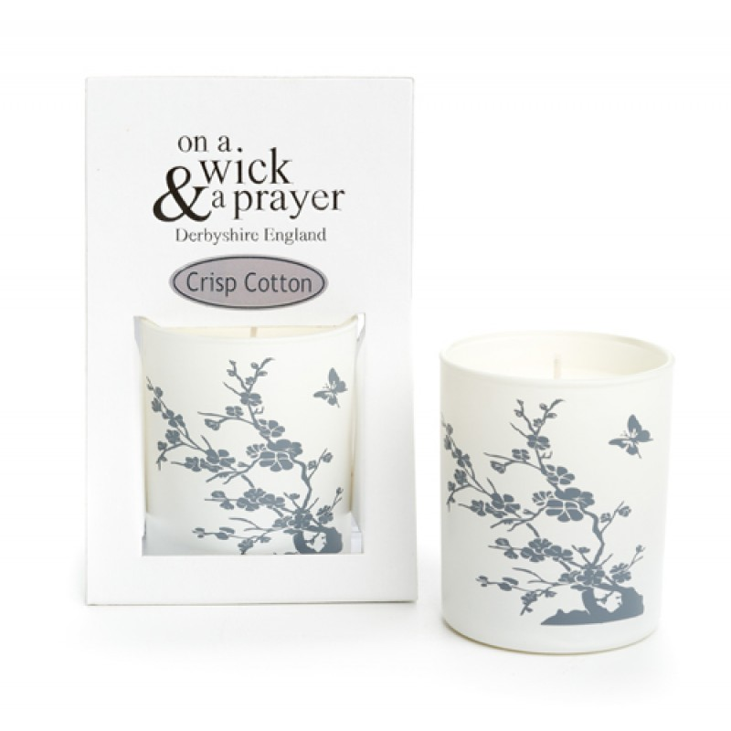 China Garden 2015 - Crisp Cotton scented candle