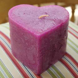Scented Heart Candles