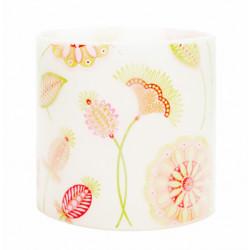 Gypsy Flower Hurricane Candle