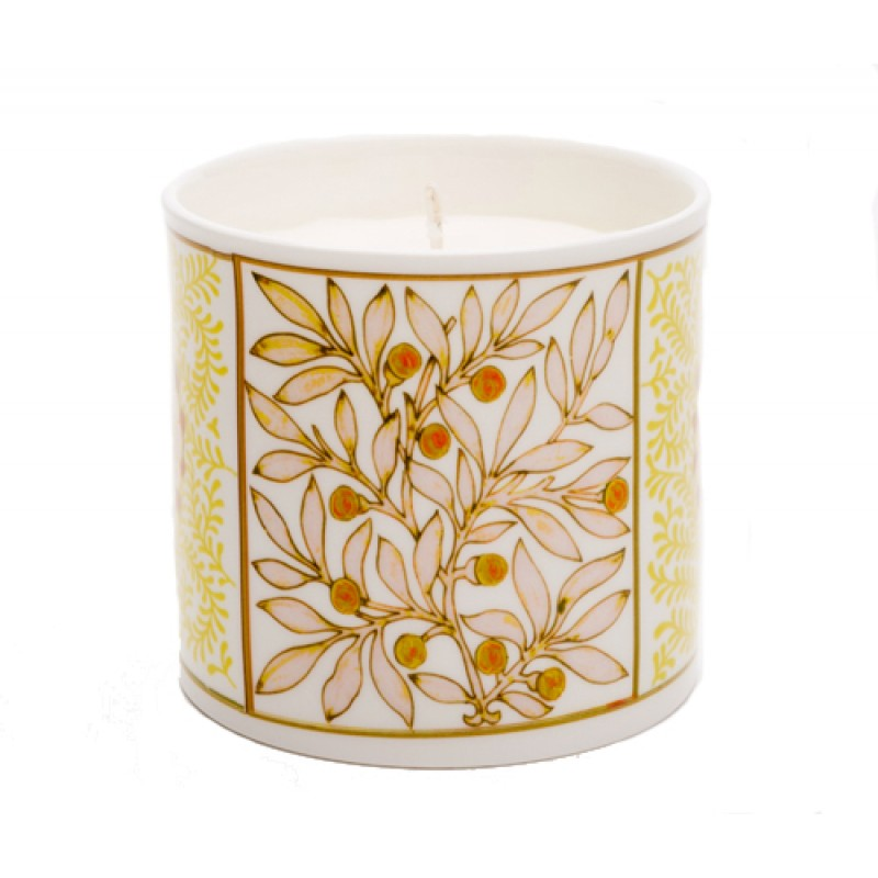 Mistletoe Gold Candle