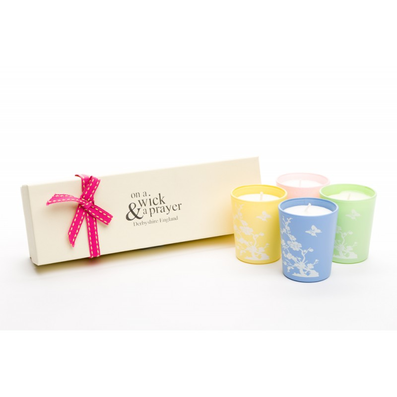 China Garden Shot Candle Set