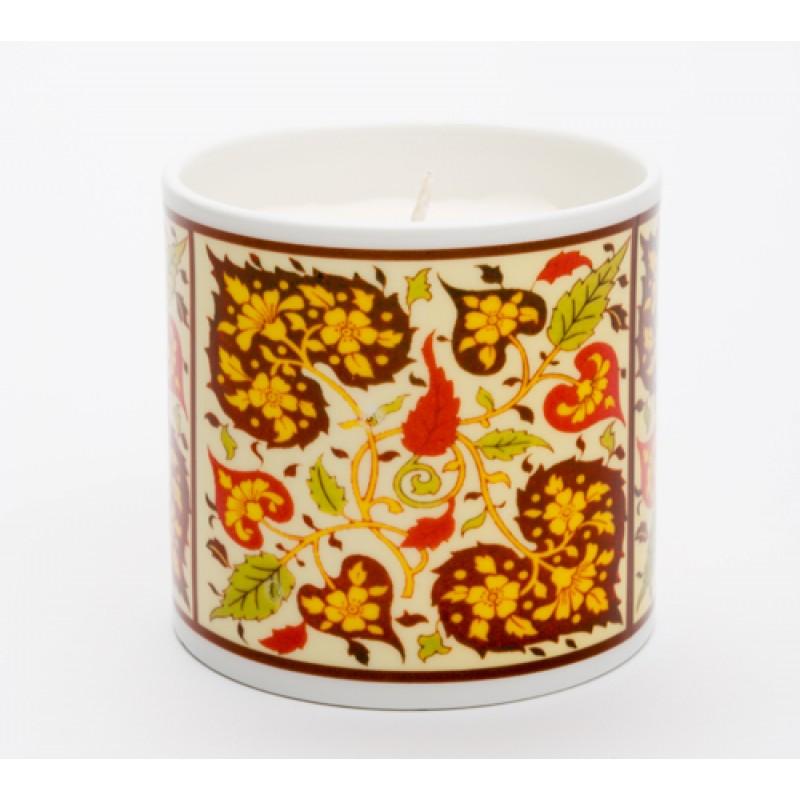 Persian Heart Russett Candle